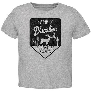 Family Vacation Adventure Awaits Toddler T Shirt