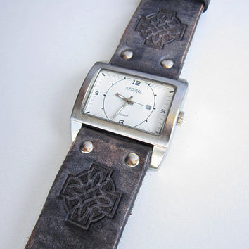 Handmade Watch Strap, Leather watch strap , Unisex watch