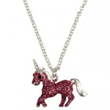 Glitter Unicorn Necklace | Animal Shop | Jewelry By Trend | Shop Justice