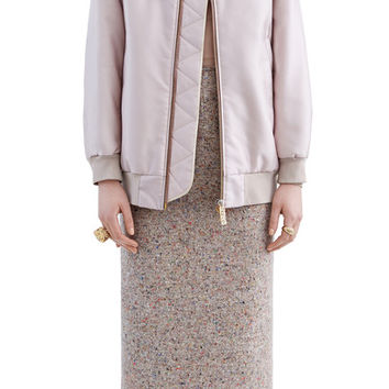 Acne Studios - Selow bomber powder pink