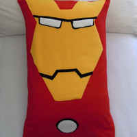 Iron Man Fleece Pillow Case, Marvel Avengers