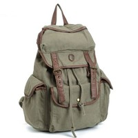 BUG Multi-function Canvas Backpack Practical Leisure Rucksack Unisex Backpack 8 Colors.