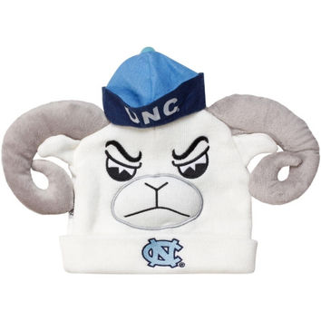 North Carolina Tar Heels :UNC: Mascot Knit Hat - http://www.shareasale.com/m-pr.cfm?merchantID=7124&userID=1042934&productID=523467052 / North Carolina Tar Heels