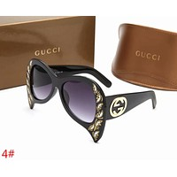 GUCCI Popular Women Men Personality Summer Style Sun Shades Eyeglasses Glasses Sunglasses(5-Color) 4# I-ZXJ