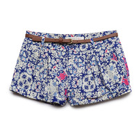 Floral Print Woven Shorts (Kids)