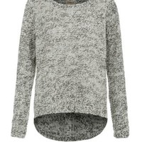 New Look Mobile | Only Grey Geena Speckled Jumper