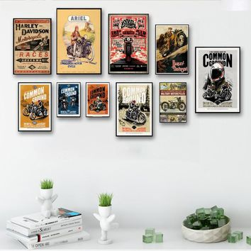 Wall Stickers Retro Decorative Painting Crazy Price The Hottest Tv Series  Classic Poster Collection Home Decorator
