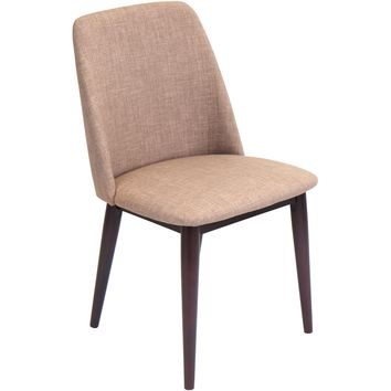 Tintori Dining Chair (Set of 2), Brown/Espresso