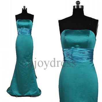 Custom Formal Mermaid Long Prom Dresses Formal Evening Gowns Wedding Party Dresses Fashion Party Dresses Bridesmaid Dresses Evening Dress