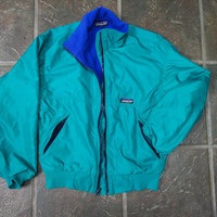 Vintage Made In USA Patagonia fleece synchilla jacket womens s-m?