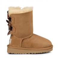 Kids Bailey Bow Suede Bow Boot