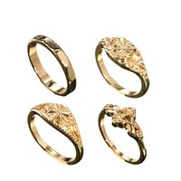 ASOS Filigree East Stack Ring Pack
