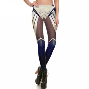 Robot Armor Comic Leggings