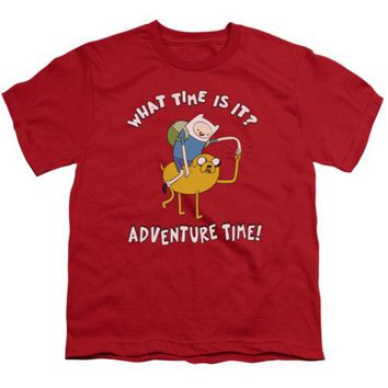 Adventure Time Ride Bump Youth T Shirt