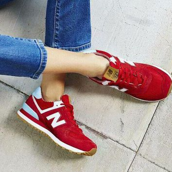 New Balance street fashion men's and women's casual shoes