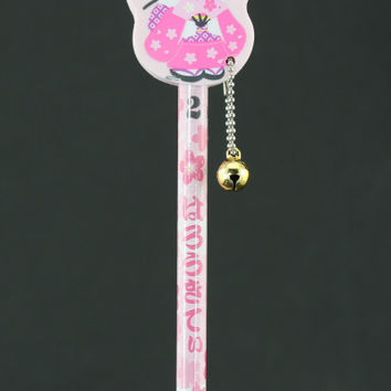 Kimono Hello Kitty Eraser and Pencil