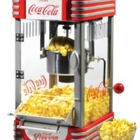 Nostalgia Coca-Cola Series RKP630COKE 2.5-Ounce Kettle Popcorn Maker