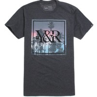 Young & Reckless Palm Paradise T-Shirt - Mens Tee - Black