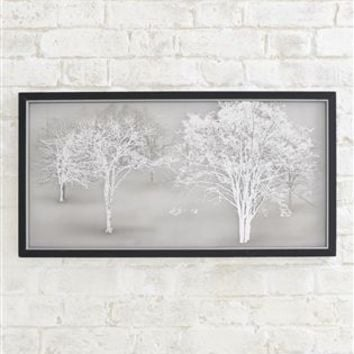 Buy Collection Luxe Etched Landscape On Framed Glass from the Next UK online shop