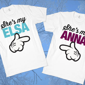 Elsa & Anna - Buddy Shirts