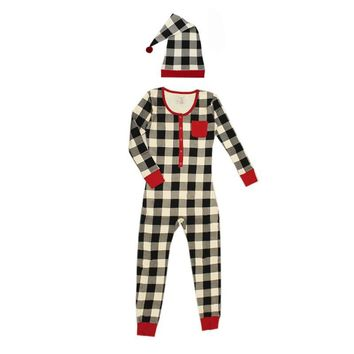 Organic Women's Holiday Onesuit & Cap Set by L'ovedbaby