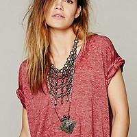 Free People  Keep Me Tee at Free People Clothing Boutique