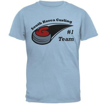 DCCKU3R Winter Games Curling Team South Korea Mens T Shirt