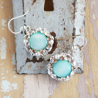 Wedzu: Arielle Earrings Aqua from Vatne Designs