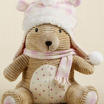 Claire the Bear Plush Plus Hat for Baby