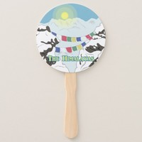 The Himalayas Hand Fan