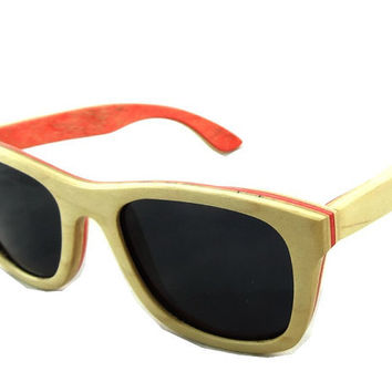 Skateboard fashion sunglasses