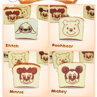 Disney Squishy Toast Bread Phone Charms