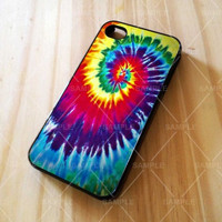 Beautiful old tie dye colorful iPhone Case And Samsung Galaxy Case
