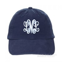 Monogrammed Hats | Marleylilly