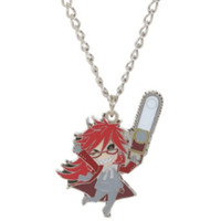 Black Butler Grell Necklace