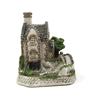 Elfin Cottage David Winter 10th Anniversary Cottages 1996 Tudor Style Home Sculpture