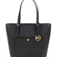 MICHAEL Michael Kors Jet Set Large Snap-Pocket Tote | Dillards