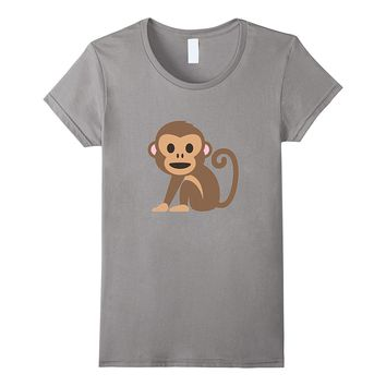 Monkey Animal T-Shirt Hear Speak See No Evil Hands Cover