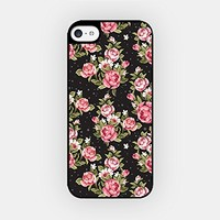 for iPhone 6/6S - High Quality TPU Plastic Case - Vintage Pattern - Floral Pattern - Vintage Floral Pattern - Hipster