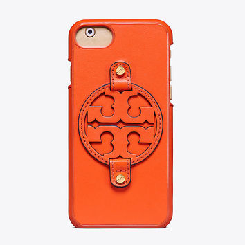 Tory Burch Miller Leather Case For Iphone 8