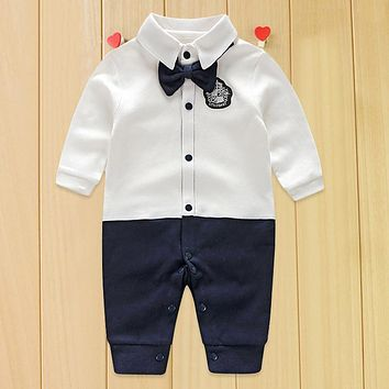 Toddler Baby Rompers  Infant Jumpsuits Boy Clothing Sets Newborn Baby Clothes  Cotton Baby Girl Clothing