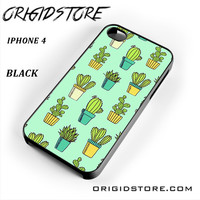 Cactus For Iphone 4 Iphone 4S Case UY