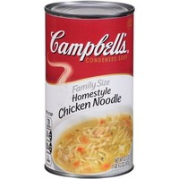Campbell's Family Size Homestyle Chicken Noodle Condensed Soup, 22.2 oz - Walmart.com