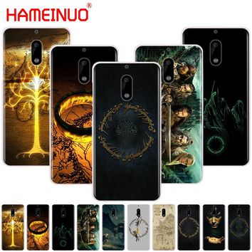 60cf245cc1f HAMEINUO Lord Of The Rings cover phone case for Nokia 9 8 7 6 5 3