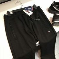 FILA Fashion Print Sport Stretch Pants Trousers Sweatpants G-G-JGYF