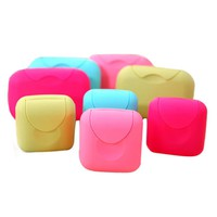 High Quality New Bathroom Dish Plate Case Home Shower Travel Hiking Holder Container Soap Box20 -25