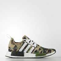 adidas NMD_R1 Bape Camouflage Shoes - Grey | adidas US