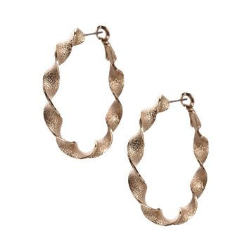 ASOS Twist Hoop Earrings
