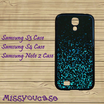 Samsung Galaxy Note 3,Samsung galaxy S3,Samsung galaxy S4,Samsung Galaxy Note 2,cute Samsung S4 Case,Mint Sparkle Glitter,cool S4 case.
