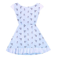 Bonne Chance Collections — Mint Kitty Cutie Dress